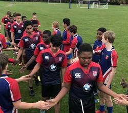 U13 Rugby Team Continue Their Unbeaten Run This Half Term