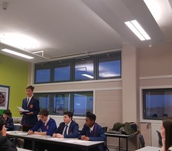 Confidence Commanded the 1st Round of Debate Mate