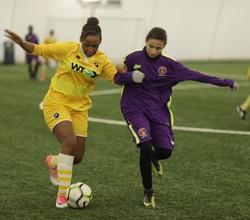 Under 13s in EFL Girls Football Tournament