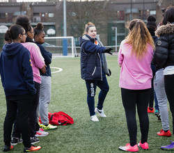 Millwall Team Up with Year 11 HAB Footballers