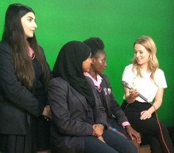 Year 9 in Live BBC Interview - Report