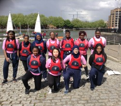 HAB Rowers Take to the Water