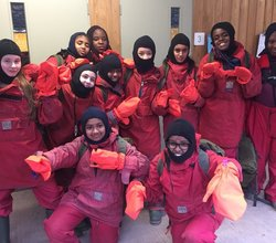 Students Leaders are on an Outward Bound Adventure