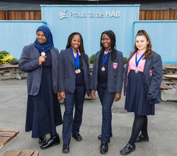 HAB Rowers with London Youth Medals