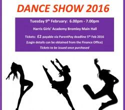 Dance Showcase February 2016