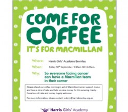 HGABR Macmillan Coffee Morning