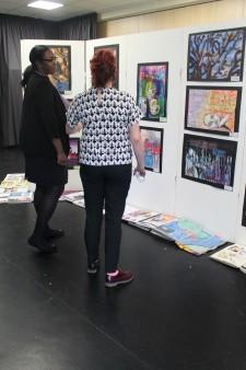 Art GCSE Exhibition 2015-16 (5)