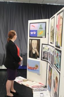 Art GCSE Exhibition 2015-16 (35)