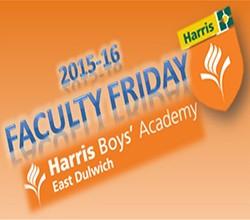 Faculty Friday - 18 September 2015