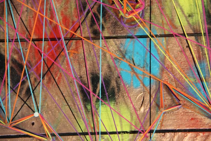 Art - Threaded butterfly