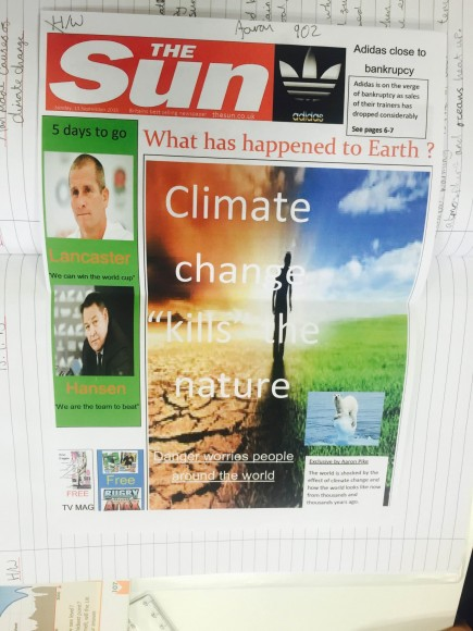 Geography climate change 2