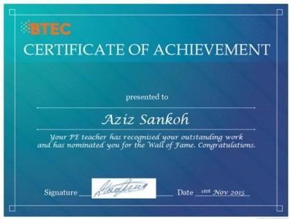 PE WoF certificate
