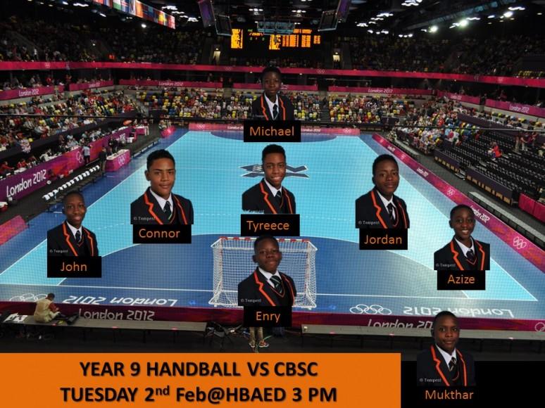 Handball Year 9