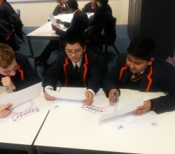 Students Take the Tenner Challenge