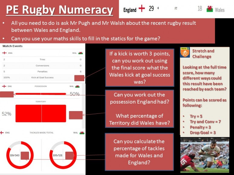 PE Rugby Numeracy