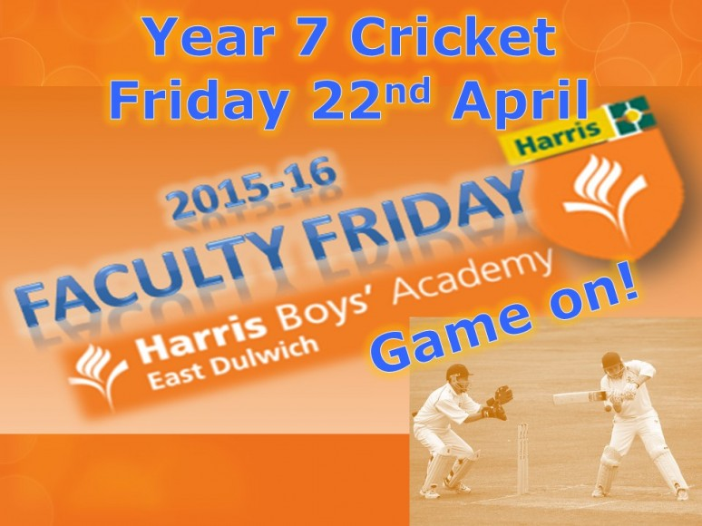 Event 12 - Year 7 Cricket