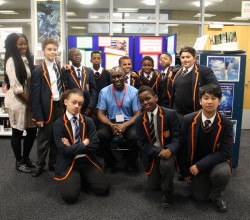 Brixton Bard, Alex Wheatle, Inspires Years 7 & 8