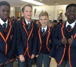 First Day of Term for Year 7 - Pictures