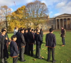 Trip to Downing College, Cambridge