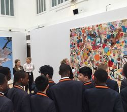 Christie's Auction House Visit for Most Able Students
