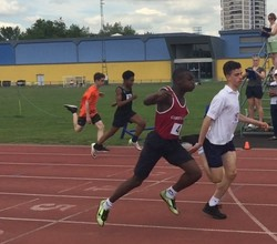 Boys Compete in Inner London Athletics