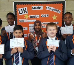 UK Maths Challenge Success