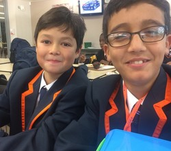 The first Week of Year 7 - In Students' Own Words