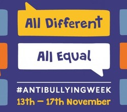 Anti-Bullying Week, 13-17 November 2017