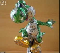 Science Competition - Make a Sculpture from Recyclables