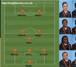 Squad - Year 10 Football, Fri 24 Nov v Evelyn Grace