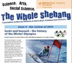 The Whole Shebang - Issue 4 - student periodical