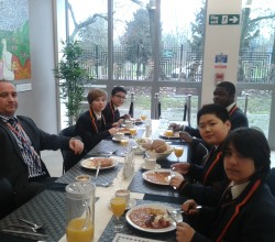Breakfast reward winners - 6 March 2015