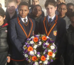 Visit to WWI cemeteries for Year 8 students