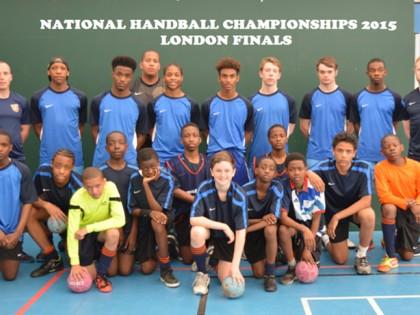 Under 13 handball 28.4.15