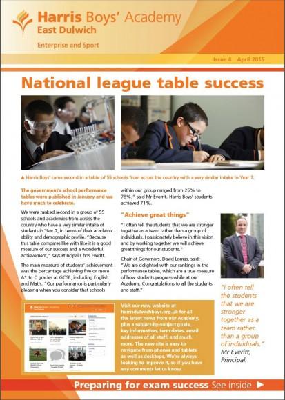 HBAED newsletter 4 cover