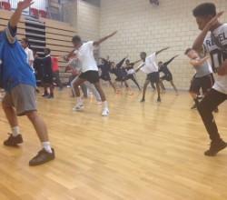 BRIT School  Dance Workshop Inspires Students