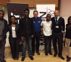 NASA Astronaut meets Sixth Formers