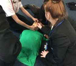 Year 7 Students Complete First Aid Training