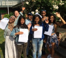 GCSE Results Day, Thurs 24 Aug 2017