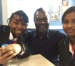 Levi Roots and Radio 4 Talk to Students about William Blake