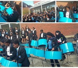Steel Pan Sensation for Black History Month