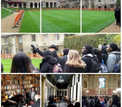 Latin Students Visit Oxford College