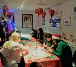 Staff and Students Support ECHO Christmas Party