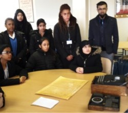 Computer Science Students Visit the Home of the Codebreakers