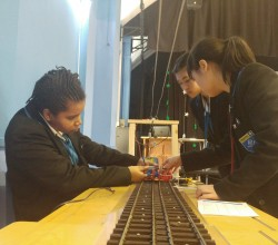 Science Week - Young Engineers Make a Train