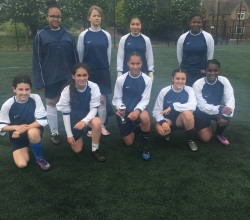 Harris Girls' wins Southwark Football Tournament