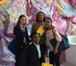 Sixth Form Students Inspired by Camberwell College of Arts