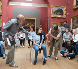 Girls Work with Dulwich Picture Gallery on Mini Opera