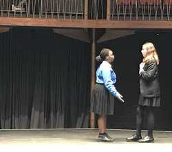 Year 10 Perform 'Much Ado' at Albany