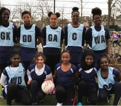 Year 7 Compete at Southwark Netball Tournament
